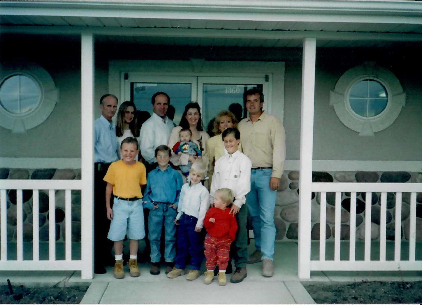 The Grand Opening of PFC in Pleasant Grove in 1994   Pyne Floor Coverings