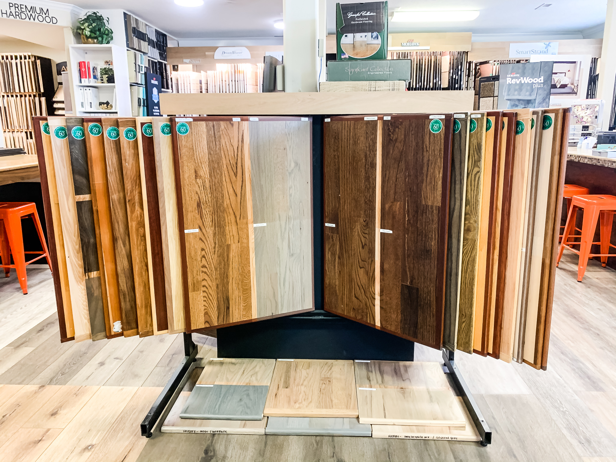 Custom stains at Pyne Floor Coverings | PFC